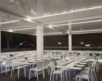 4 pergolas bioclimaticas Restaurante